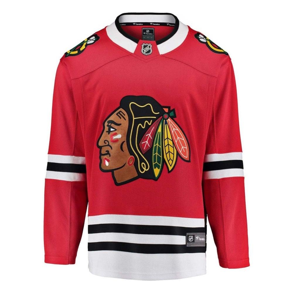 81f9ab12449 Fanatics NHL Chicago Blackhawks Home Breakaway Jersey - Fan Wear ...