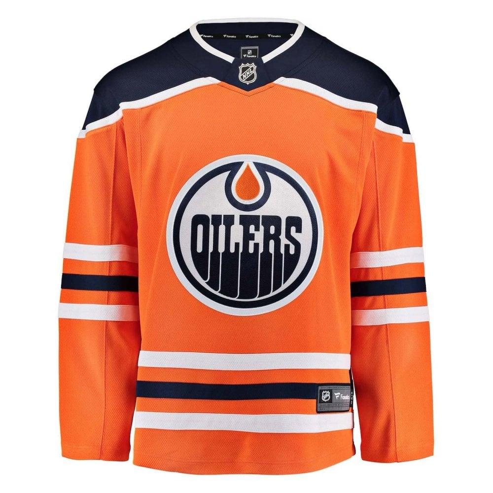 Fanatics NHL Edmonton Oilers Home Breakaway Jersey - Fan Wear from ... 0667db9b2
