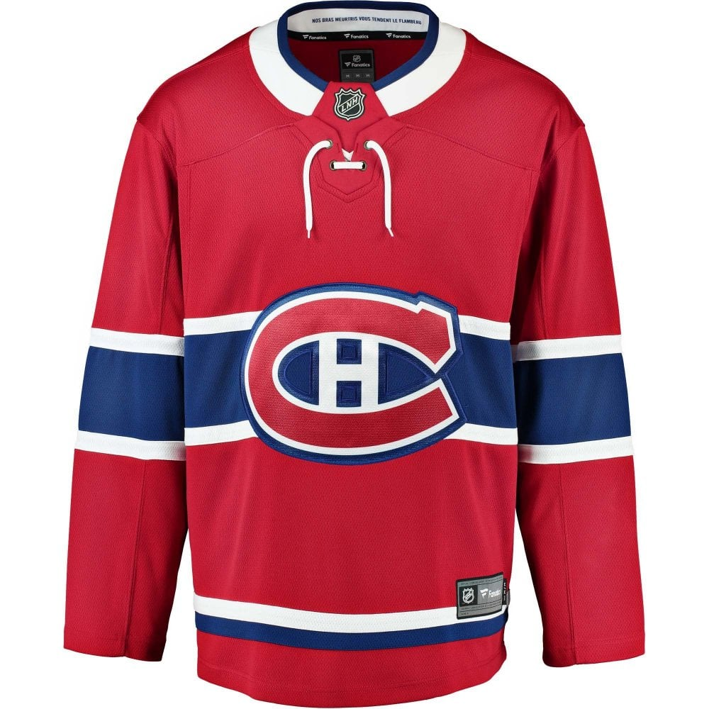 Fanatics Nhl Montreal Canadiens Home Breakaway Jersey Teams From Usa Sports Uk