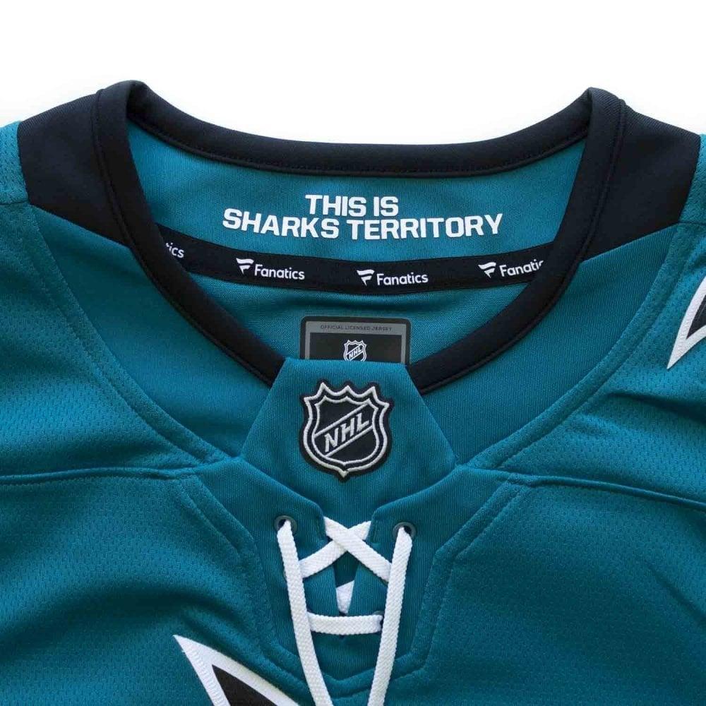 Fanatics NHL San Jose Sharks Home Breakaway Jersey - Fan Wear from ... f78601f07