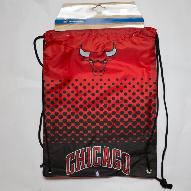 Forever Collectibles NBA Chicago Bulls Fade Drawstring Backpack