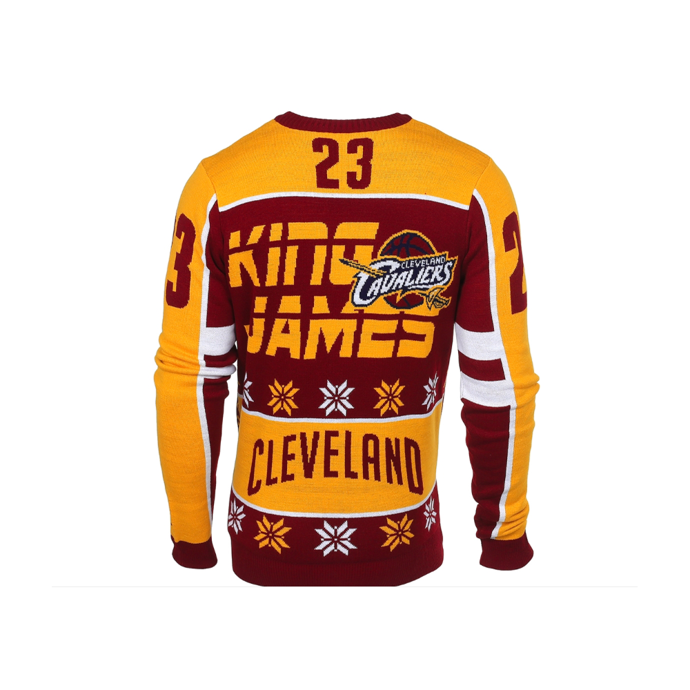 hot sale online 7aaa1 30b23 NBA Cleveland Cavaliers LeBron James Ugly Sweater