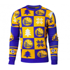NBA Golden State Warriors Patches Ugly Sweater