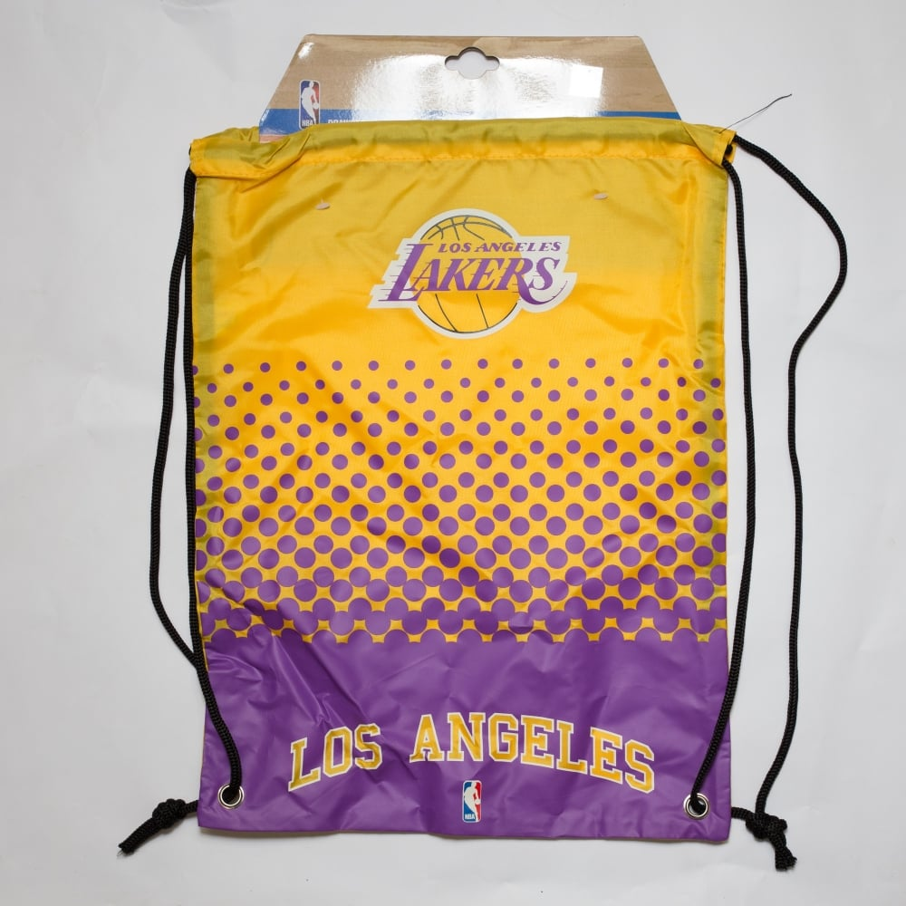 d3bab97ba8 Forever Collectibles NBA Los Angeles Lakers Fade Drawstring Backpack ...