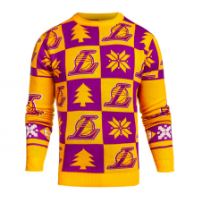 NBA Los Angeles Lakers Patches Ugly Sweater
