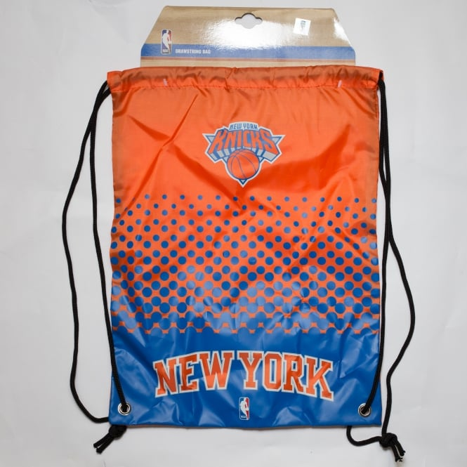Forever Collectibles NBA New York Knicks Fade Drawstring Backpack
