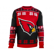 NFL Arizona Cardinals Big Logo Ugly Sweater