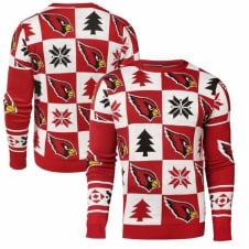 NFL Arizona Cardinals Patches Ugly Sweater