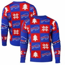 NFL Buffalo Bills Patches Ugly Sweater