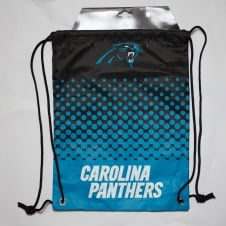 NFL Carolina Panthers Fade Drawstring Backpack