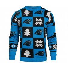 NFL Carolina Panthers Patches Ugly Sweater