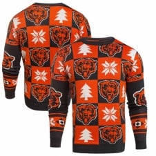 NFL Chicago Bears Patches Ugly Sweater