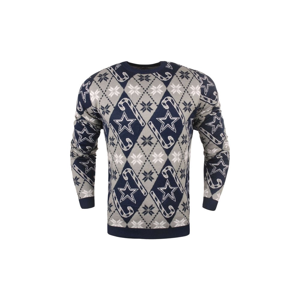 new arrival 83531 5c106 NFL Dallas Cowboys Candy Cane Ugly Sweater