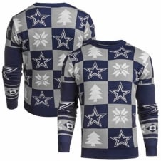 NFL Dallas Cowboys Patches Ugly Sweater