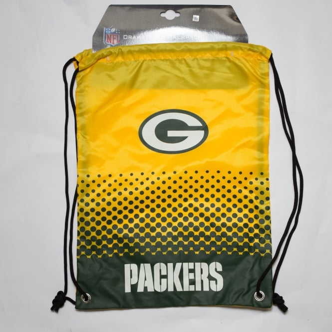 Forever Collectibles NFL Green Bay Packers Fade Drawstring Backpack