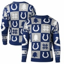 NFL Indianapolis Colts Patches Ugly Sweater