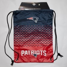 NFL New England Patriots Fade Drawstring Backpack