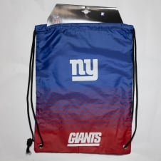 NFL New York Giants Fade Drawstring Backpack