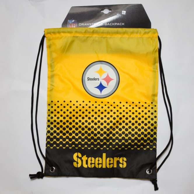 Forever Collectibles NFL Pittsburgh Steelers Fade Drawstring Backpack