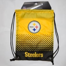 NFL Pittsburgh Steelers Fade Drawstring Backpack