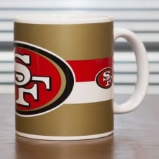 Forever Collectibles NFL San Francisco 49ers Big Crest Mug