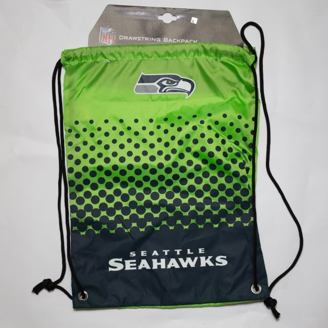 Forever Collectibles NFL Seattle Seahawks Fade Drawstring Backpack
