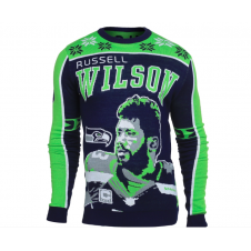 NFL Seattle Seahawks Russell Wilson Ugly Sweater