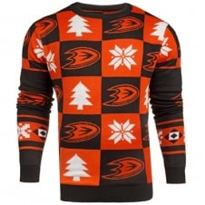 NHL Anaheim Ducks Patches Ugly Sweater