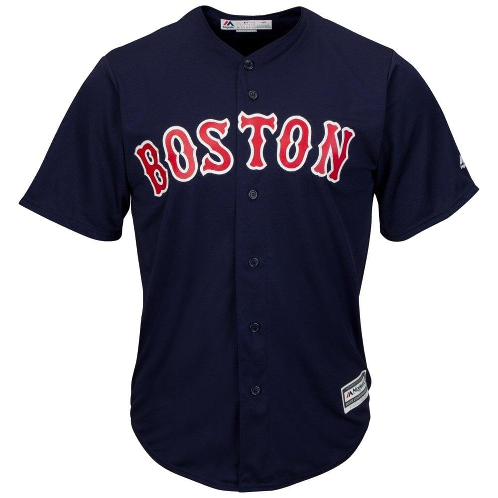 online store 5b843 8ba90 MLB Boston Red Sox Cool Base Alternate Navy Jersey