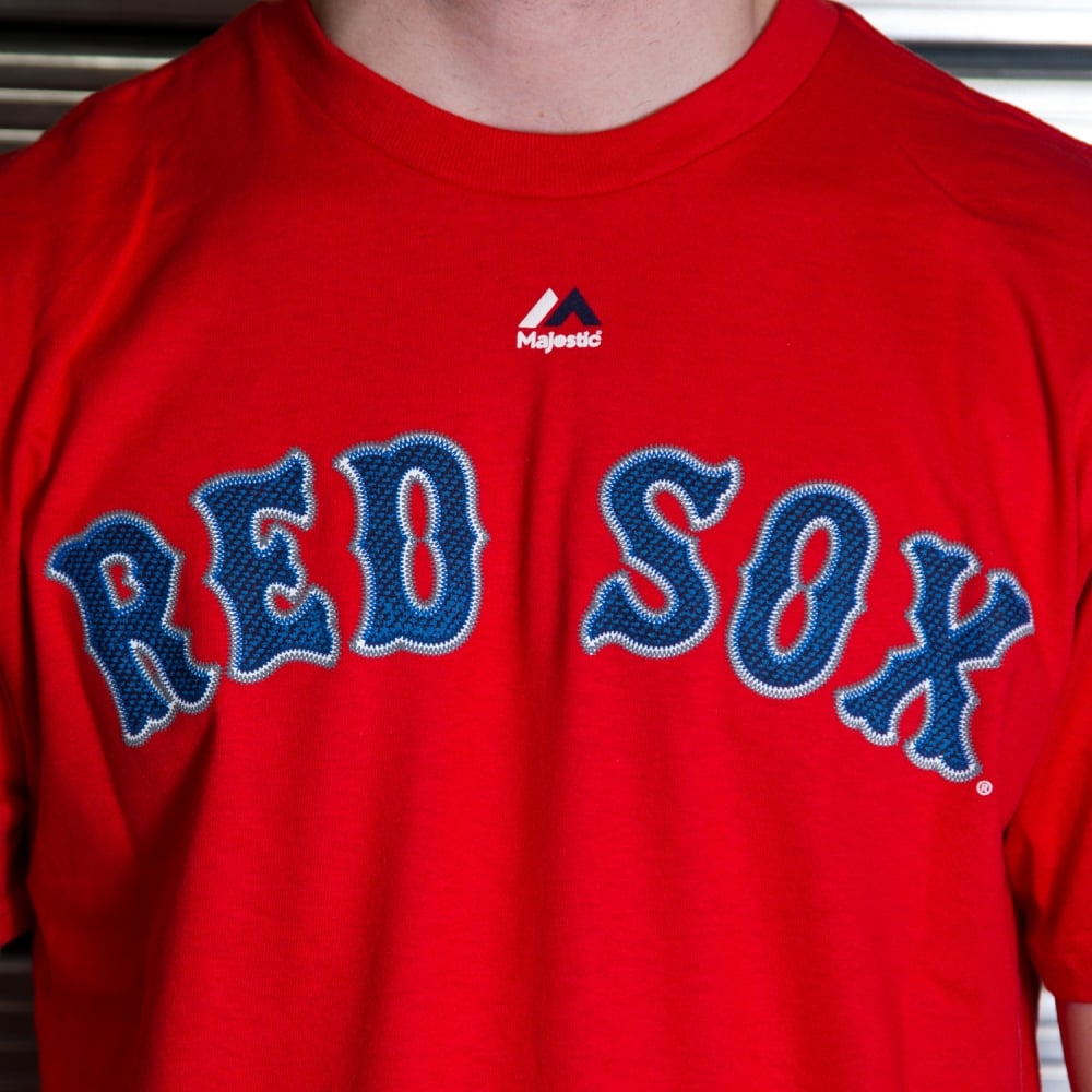 huge selection of fa22b f217c MLB Boston Red Sox David Ortiz Red Official Name and Number T-Shirt