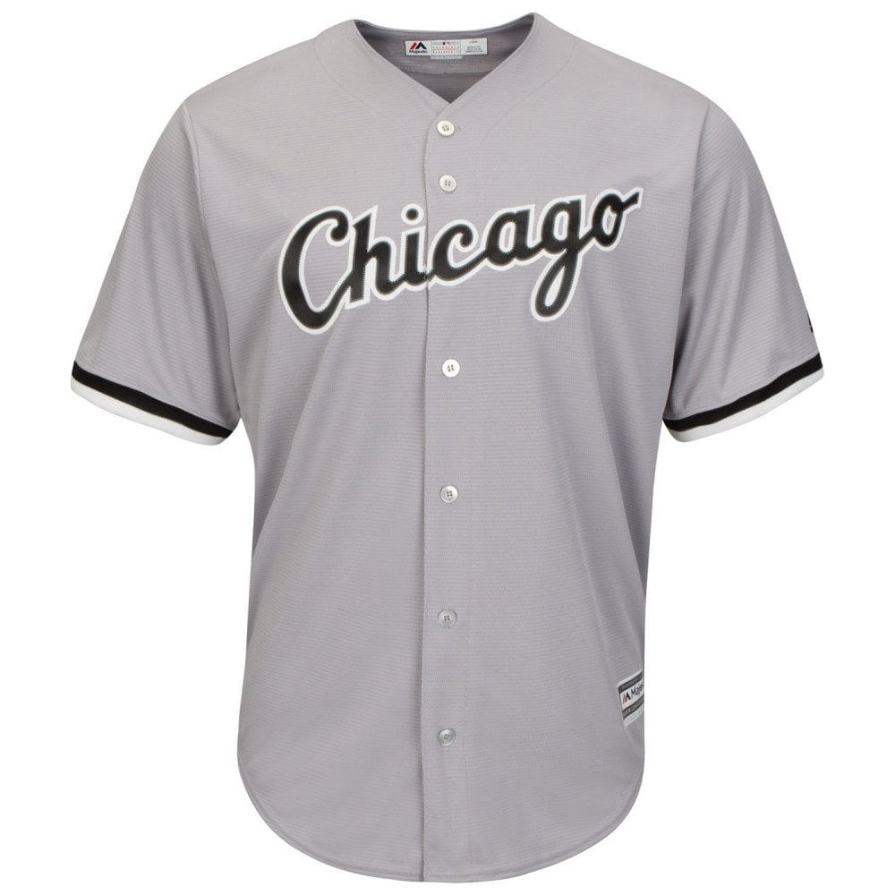 sale retailer b61ed cd336 MLB Chicago White Sox Cool Base Road Jersey