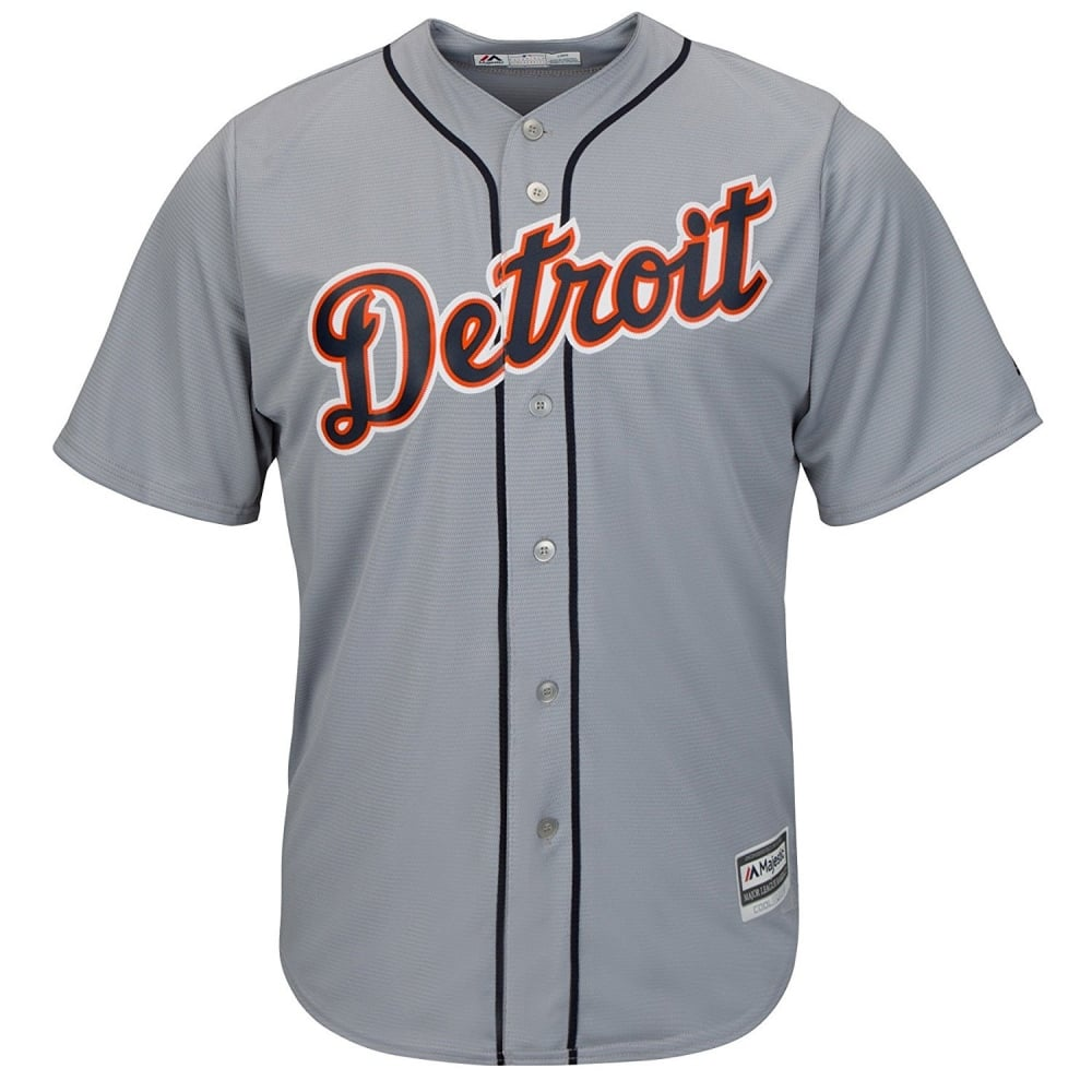 711b2fd616ad95 Majestic Athletic MLB Detroit Tigers Cool Base Road Jersey - Fan ...