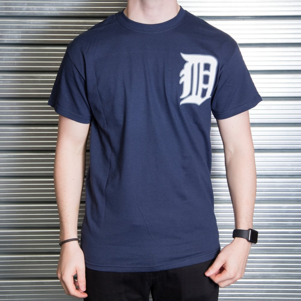 watch b692e 99495 MLB Detroit Tigers Miguel Cabrera Navy Official Name and Number T-Shirt
