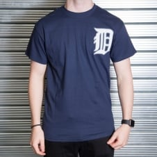 MLB Detroit Tigers Miguel Cabrera Navy Official Name and Number T-Shirt