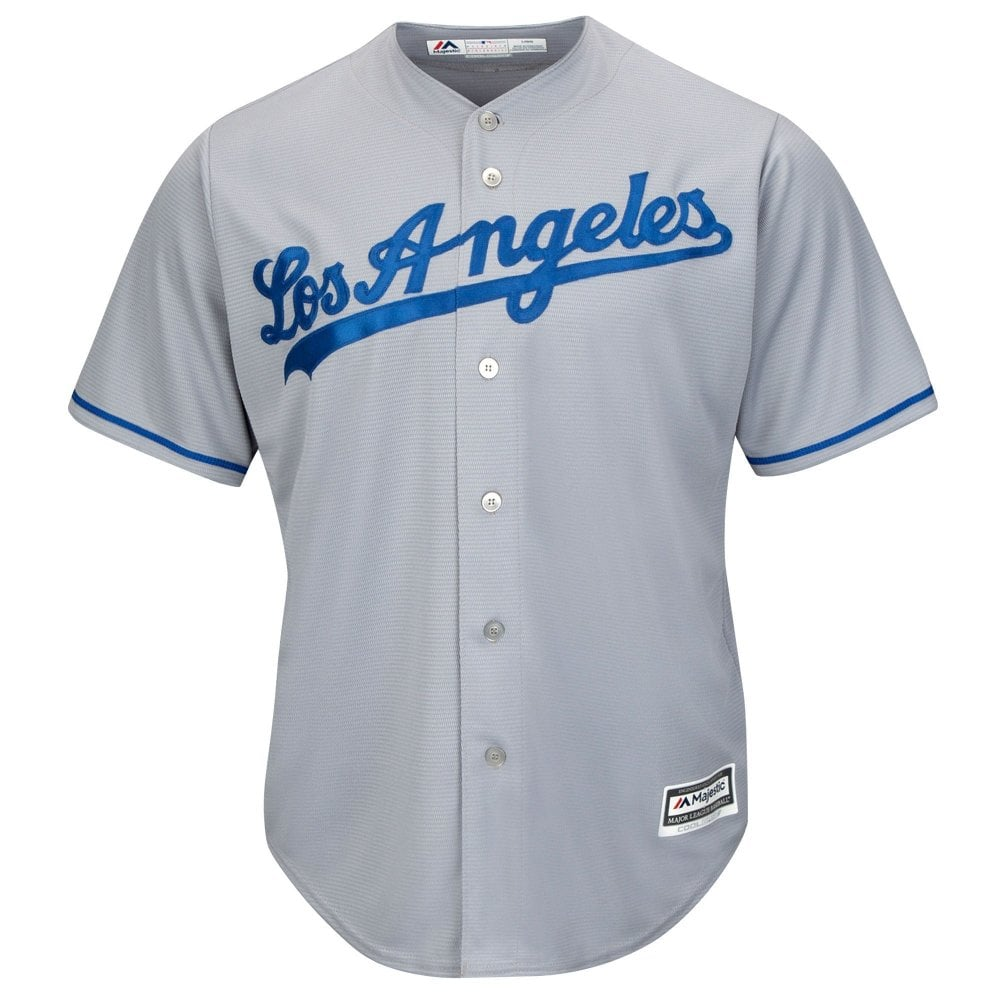 Majestic Athletic MLB Los Angeles Dodgers Cool Base Road Jersey ... bff488891d4