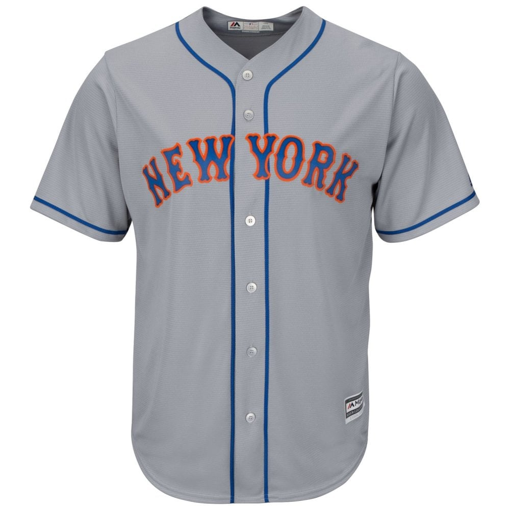 online store f363a 58bbb MLB New York Mets Cool Base Road Jersey