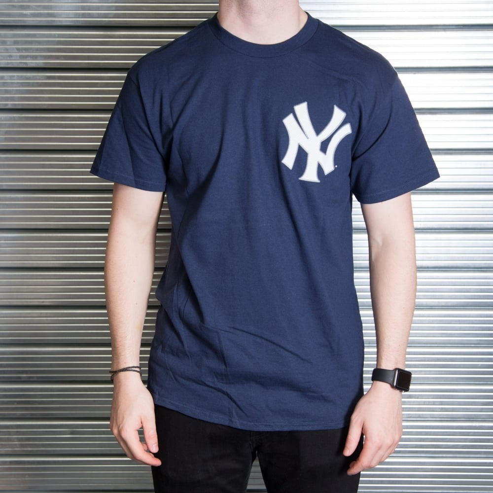 MLB New York Yankees Masahiro Tanaka Navy Official Name and Number T-Shirt c324ec6d9df