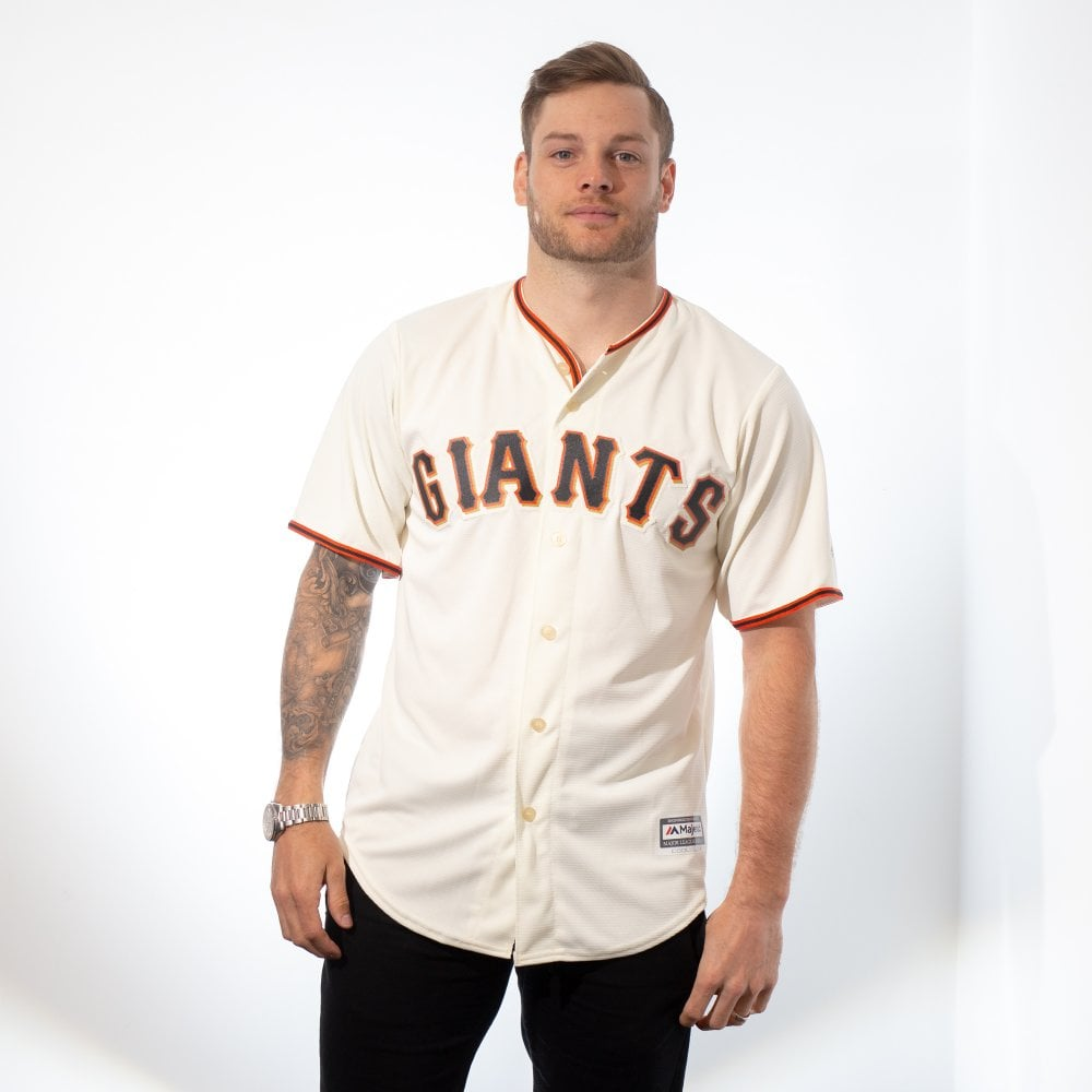 meet a9750 6e26d MLB San Francisco Giants Cool Base Home Jersey