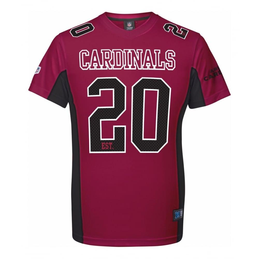 Majestic Athletic NFL Arizona Cardinals Moro Poly Mesh T-Shirt ... cb3e677ef
