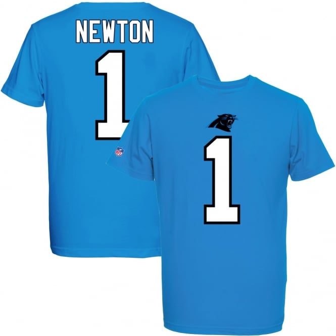 Majestic Athletic NFL Carolina Panthers Cam Newton Eligible Receiver T-Shirt
