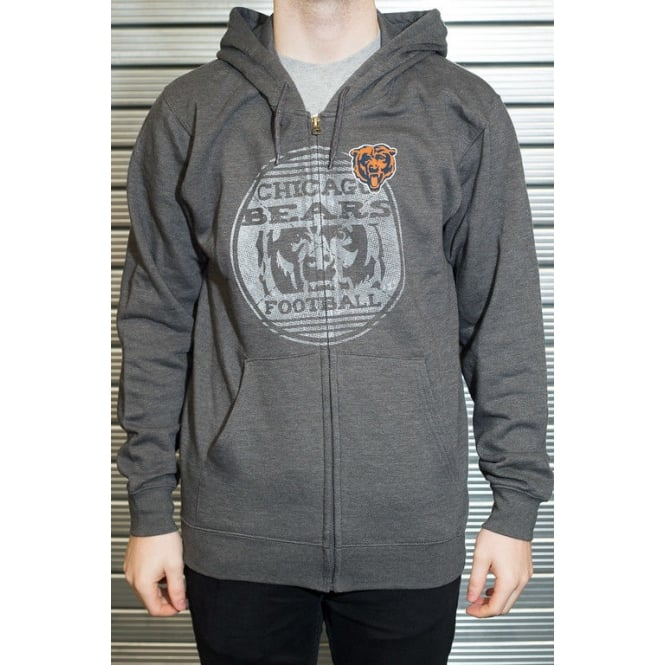 Majestic Athletic NFL Chicago Bears Defeat Proof Zip Hood