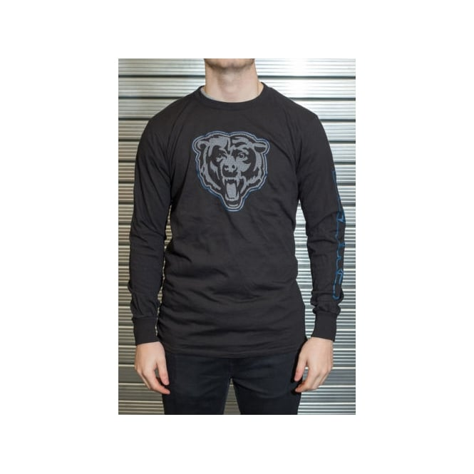 Majestic Athletic NFL Chicago Bears Up And Over Longsleeve T-Shirt