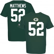 NFL Green Bay Packers Clay Matthews Eligible Receiver T-Shirt