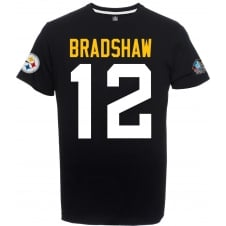 NFL Hall Of Fame Super Bowl 50 Bradshaw Steelers T-Shirt