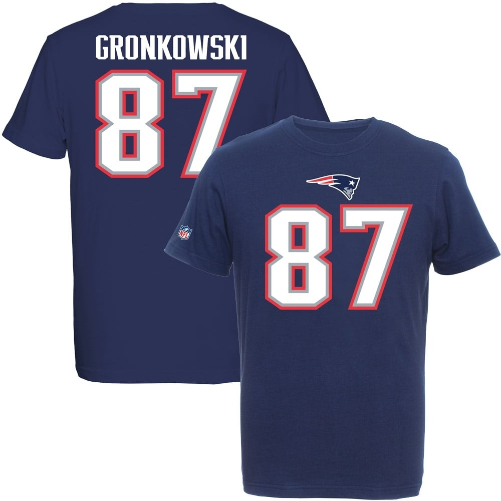new product 40926 3523e NFL New England Patriots Rob Gronkowski Eligible Receiver T-Shirt