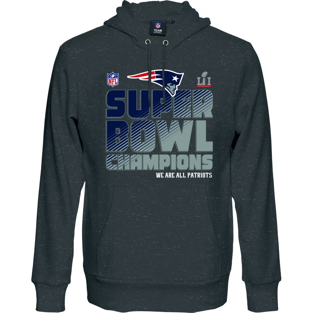 huge selection of bf5e4 d1f99 NFL New England Patriots Super Bowl 51 Champions Hood