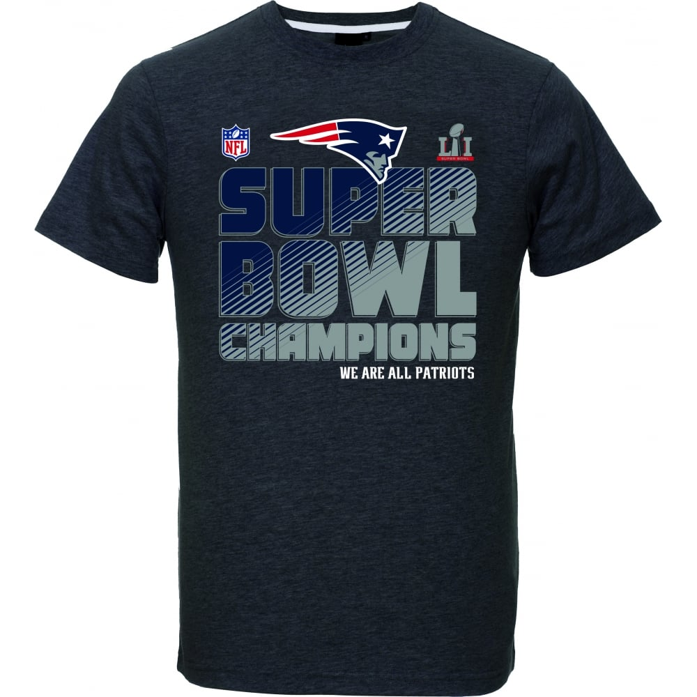 Majestic Athletic NFL New England Patriots Super Bowl 51 Champions T ... a2f1844c9