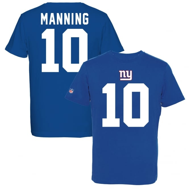 Majestic Athletic NFL New York Giants Eli Manning Eligible Receiver T-Shirt