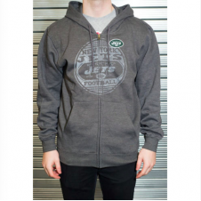 NFL New York Jets Defeat Proof Zip Hood