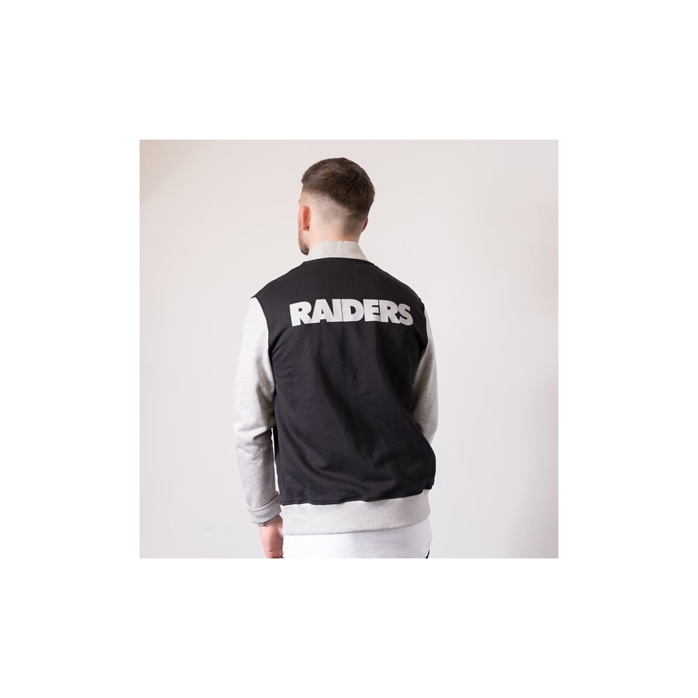 reputable site f960a 73ce3 NFL Oakland Raiders Fleece Letterman